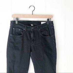 Rag & Bone | Black Denim Skinny Jeans